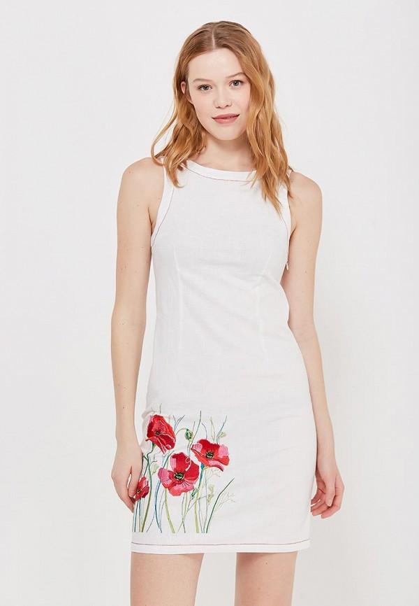 Купить Платье Indiano Natural, IN012EWANOV5, белый, Весна-лето 2018