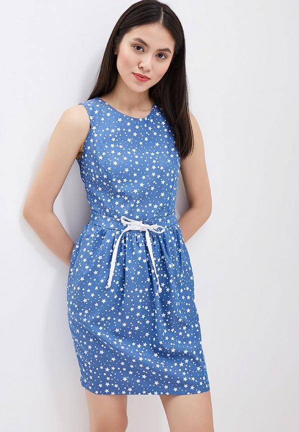 Купить Платье Indiano Natural, IN012EWANOX1, синий, Весна-лето 2018