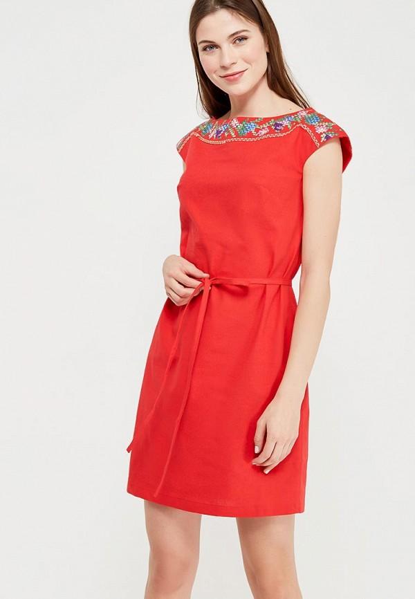 Купить Платье Indiano Natural, IN012EWANOY2, красный, Весна-лето 2018
