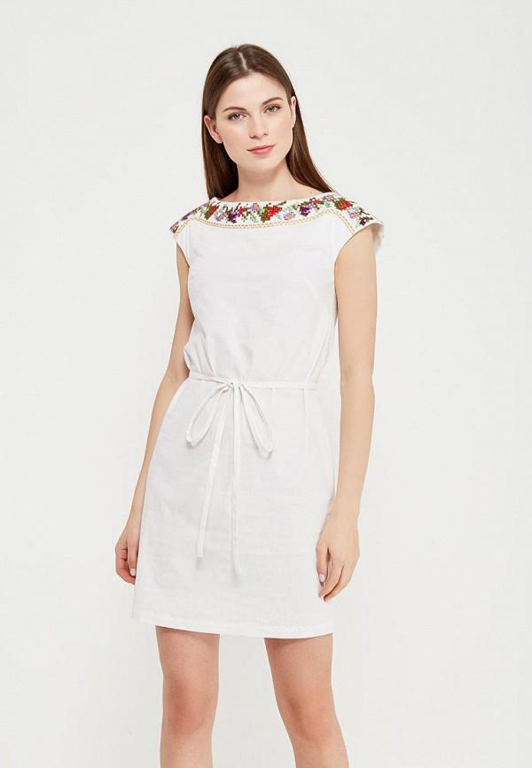 Купить Платье Indiano Natural, IN012EWANOY3, белый, Весна-лето 2018