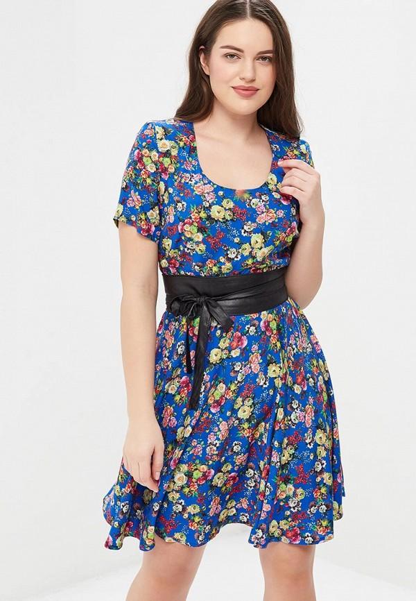 Купить Платье Indiano Natural, IN012EWAUJK2, синий, Весна-лето 2018