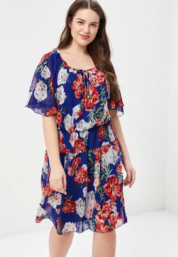 Купить Платье Indiano Natural, in012ewausw3, синий, Весна-лето 2018