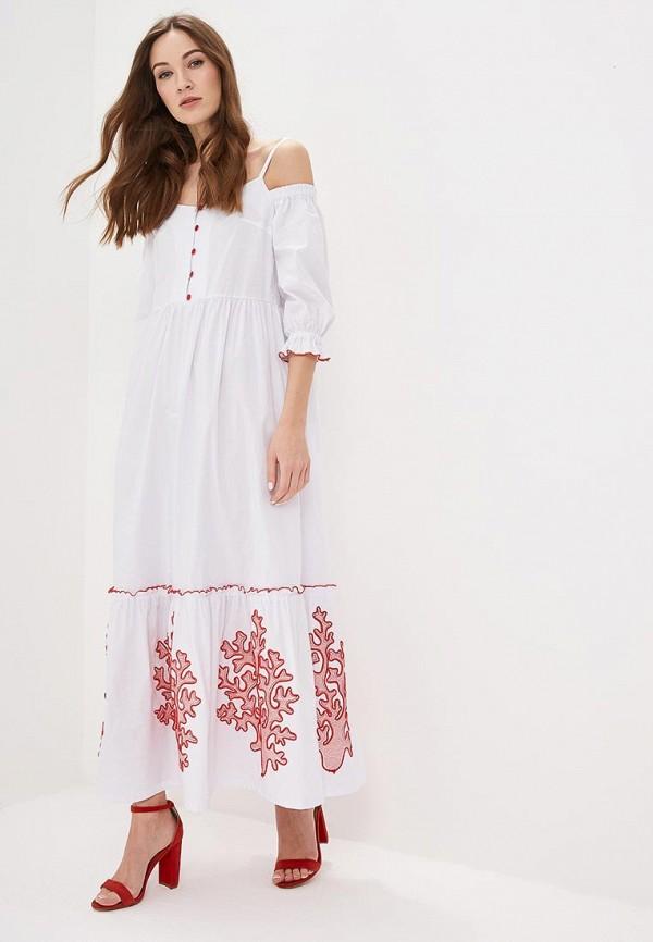 цена Платье Indiano Natural Indiano Natural IN012EWEEKM6 онлайн в 2017 году