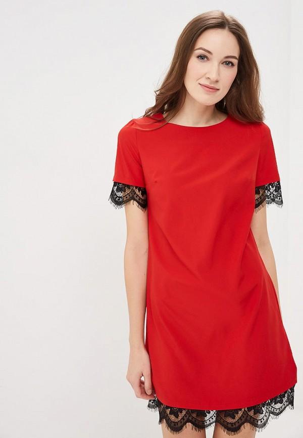 Фото - женское платье Indiano Natural красного цвета