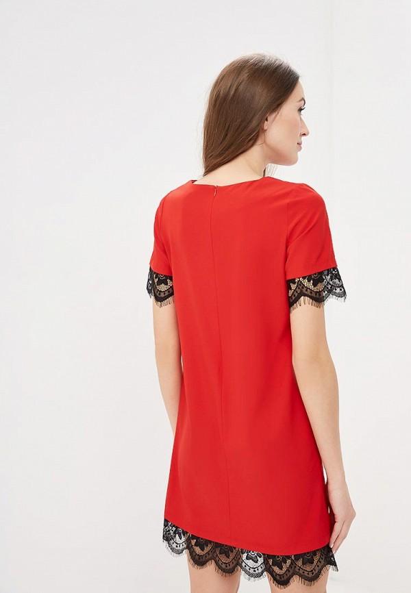 Фото 3 - женское платье Indiano Natural красного цвета