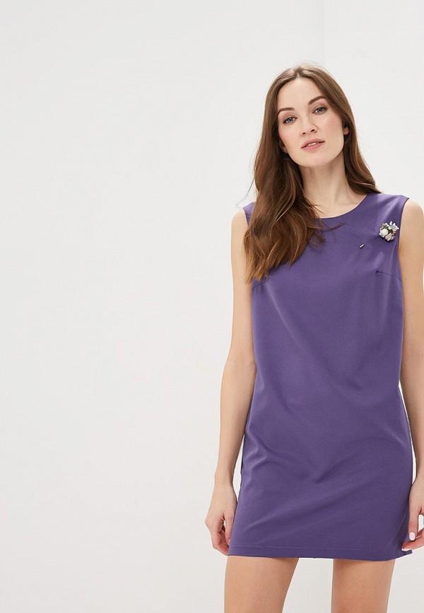 женское повседневные платье indiano natural, фиолетовое