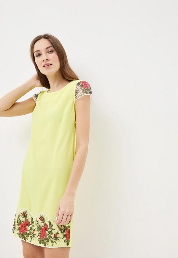 Купить Платье Indiano Natural, in012eweekv3, желтый, Весна-лето 2019