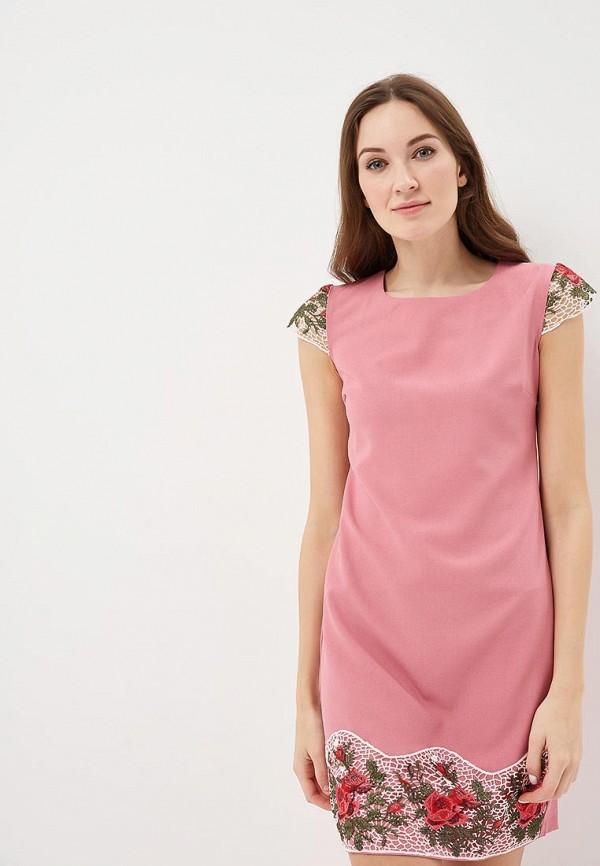 Купить Платье Indiano Natural, in012eweekv4, розовый, Весна-лето 2019