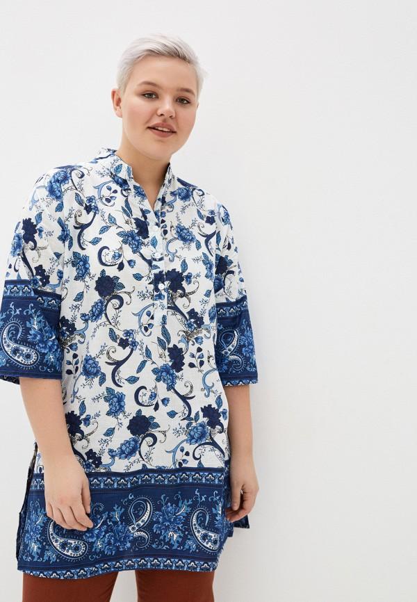 женская туника indiano natural, синяя