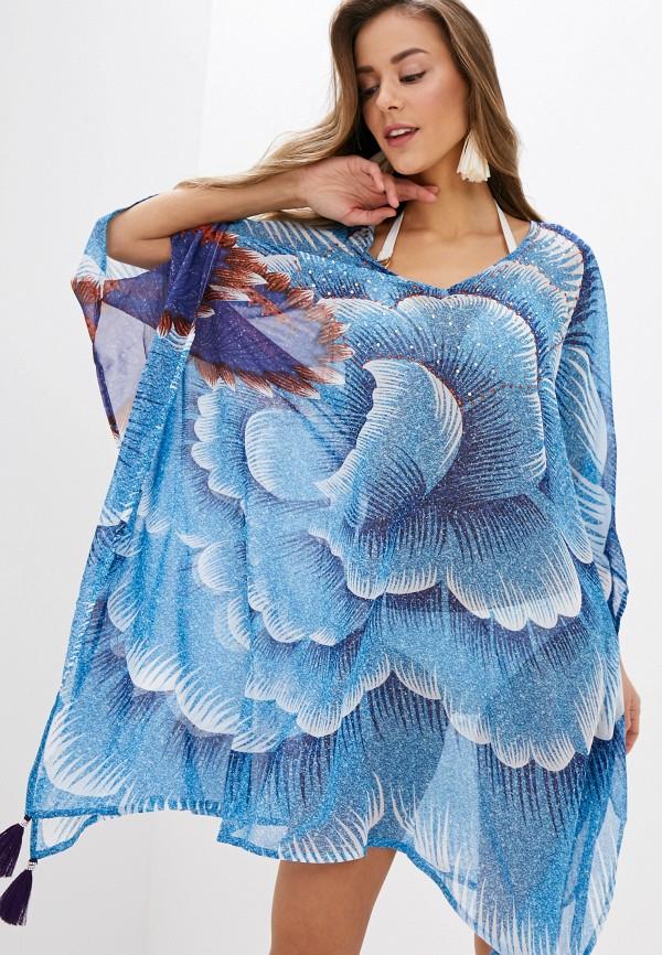 женская туника indiano natural, голубая