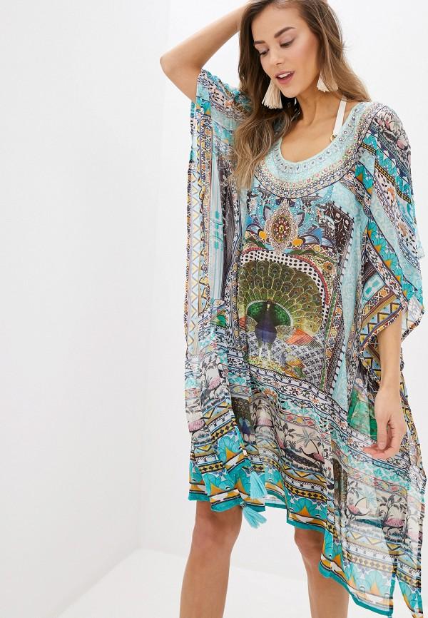 женское платье indiano natural, разноцветное