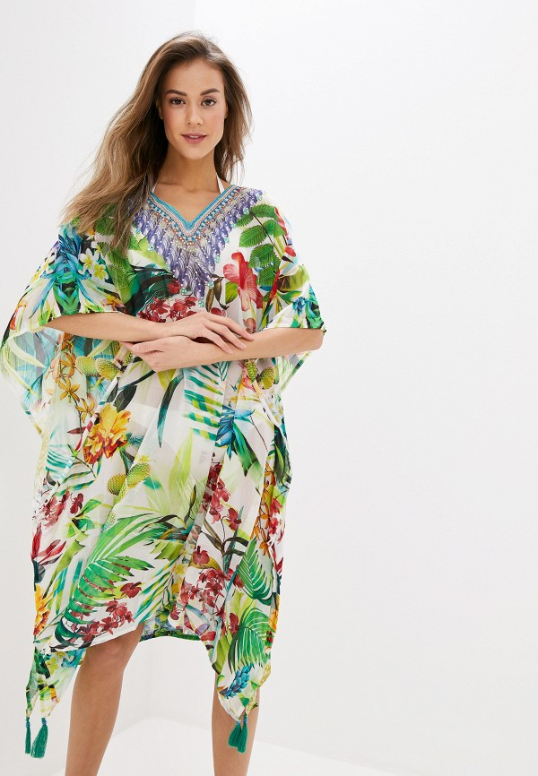 женская туника indiano natural, разноцветная