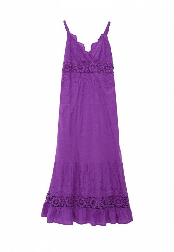 женский сарафан indiano natural, фиолетовый