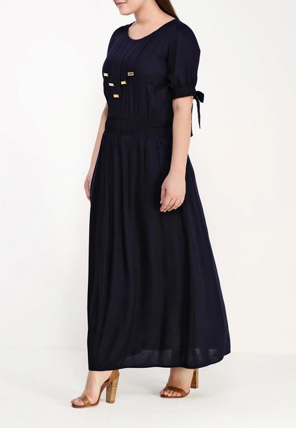 Фото 2 - женское платье Indiano Natural синего цвета