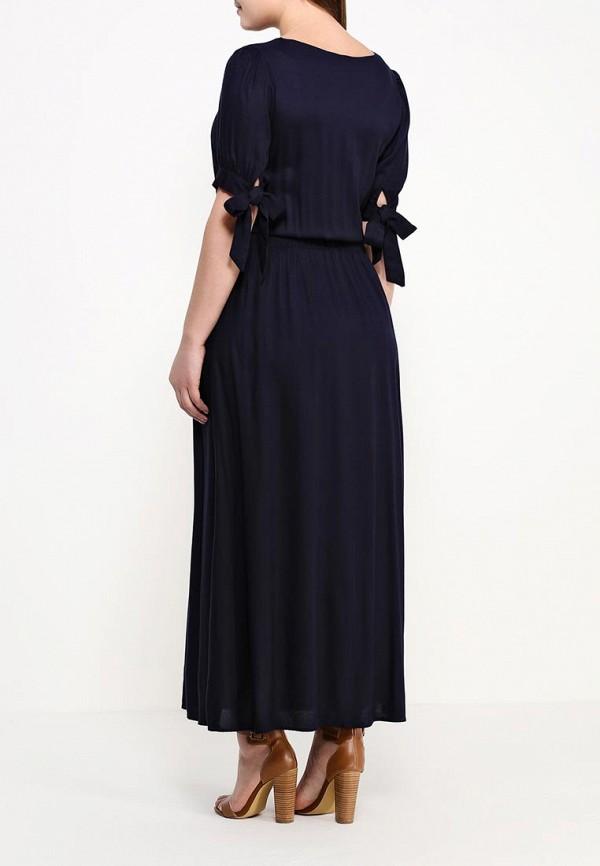 Фото 3 - женское платье Indiano Natural синего цвета