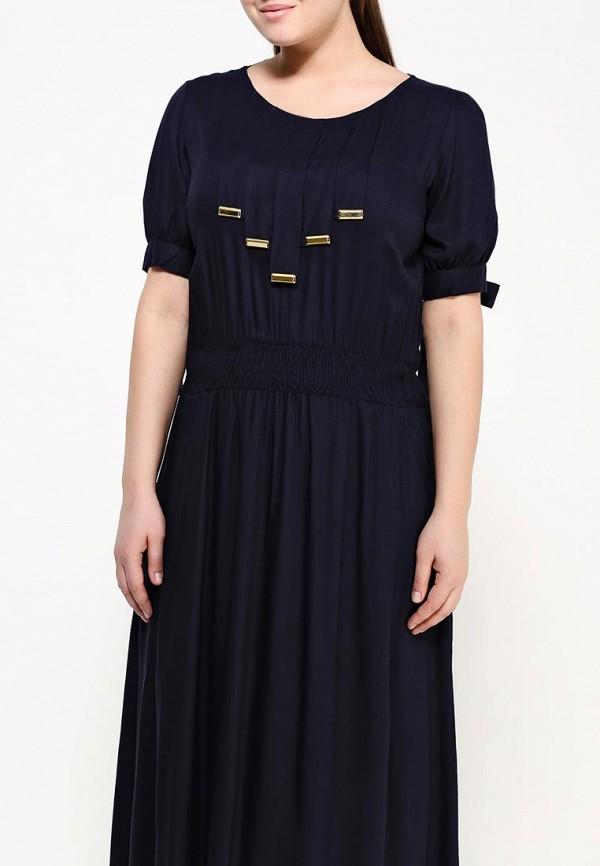 Фото 4 - женское платье Indiano Natural синего цвета
