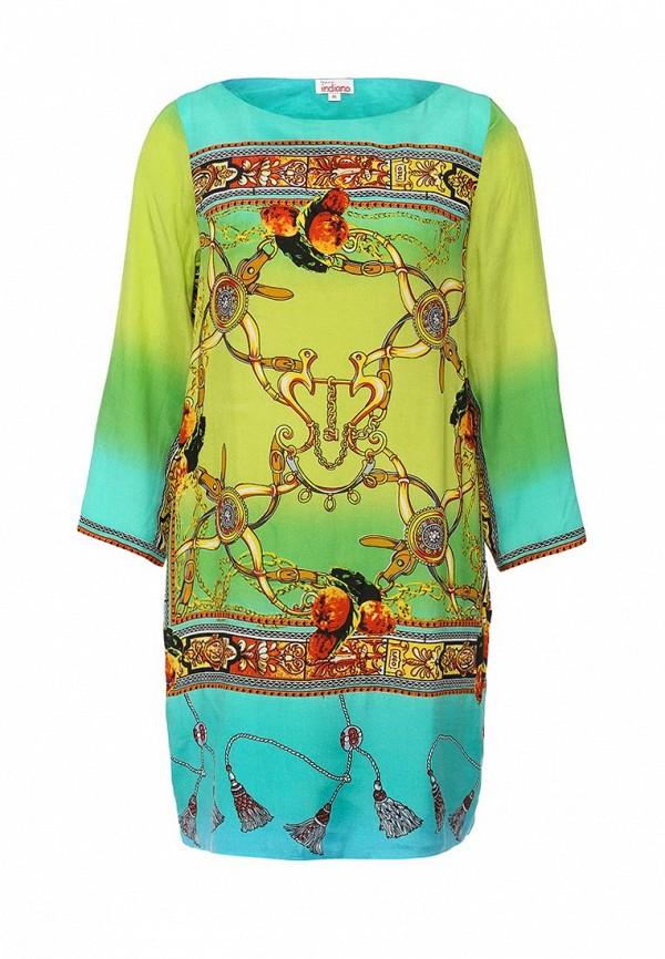 Купить Платье Indiano Natural, IN012EWIAN72, разноцветный, Весна-лето 2016