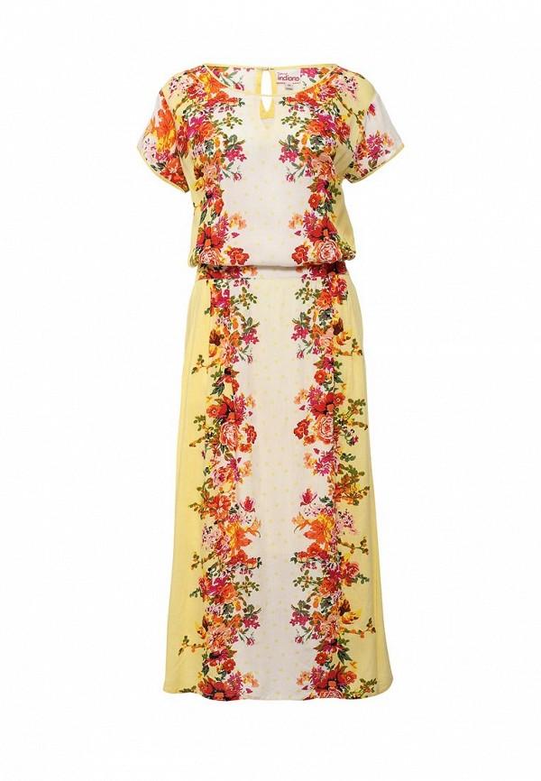 Купить Платье Indiano Natural, IN012EWIEO72, разноцветный, Весна-лето 2016