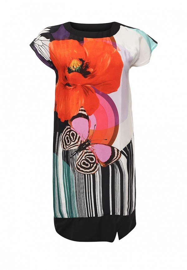 женское повседневные платье indiano natural, разноцветное