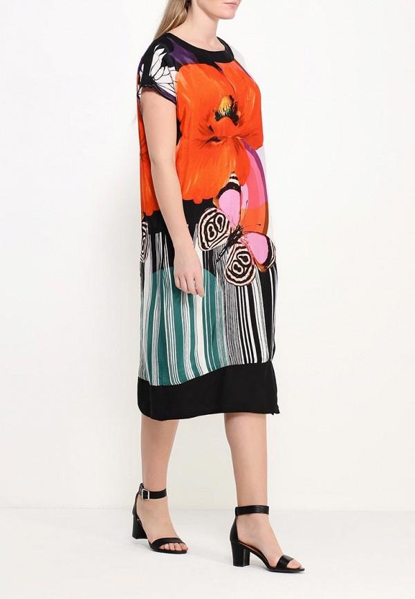 Фото 2 - женское платье Indiano Natural разноцветного цвета