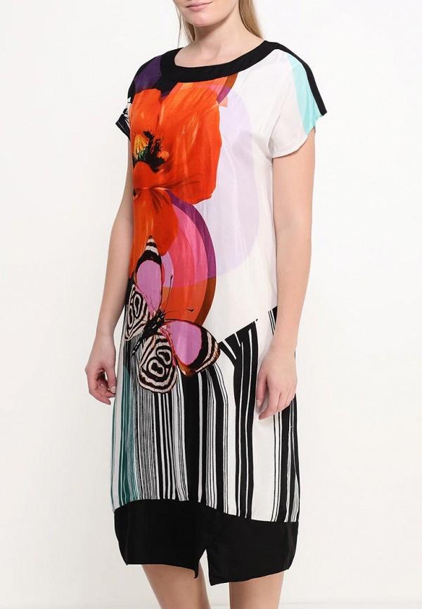 Фото 3 - женское платье Indiano Natural разноцветного цвета