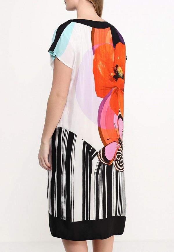 Фото 4 - женское платье Indiano Natural разноцветного цвета