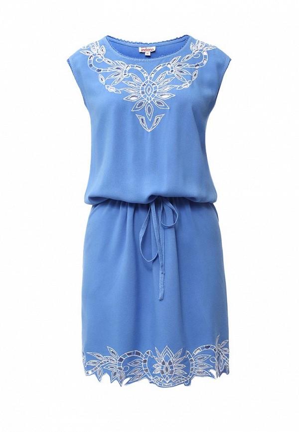 Купить Платье Indiano Natural, IN012EWIYV19, голубой, Весна-лето 2016