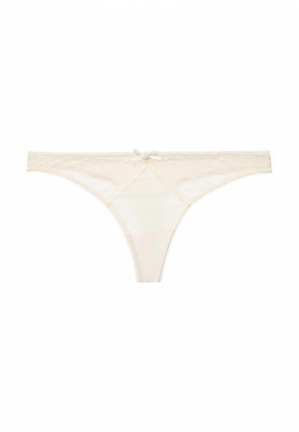 женские трусы-стринги infinity lingerie, бежевые