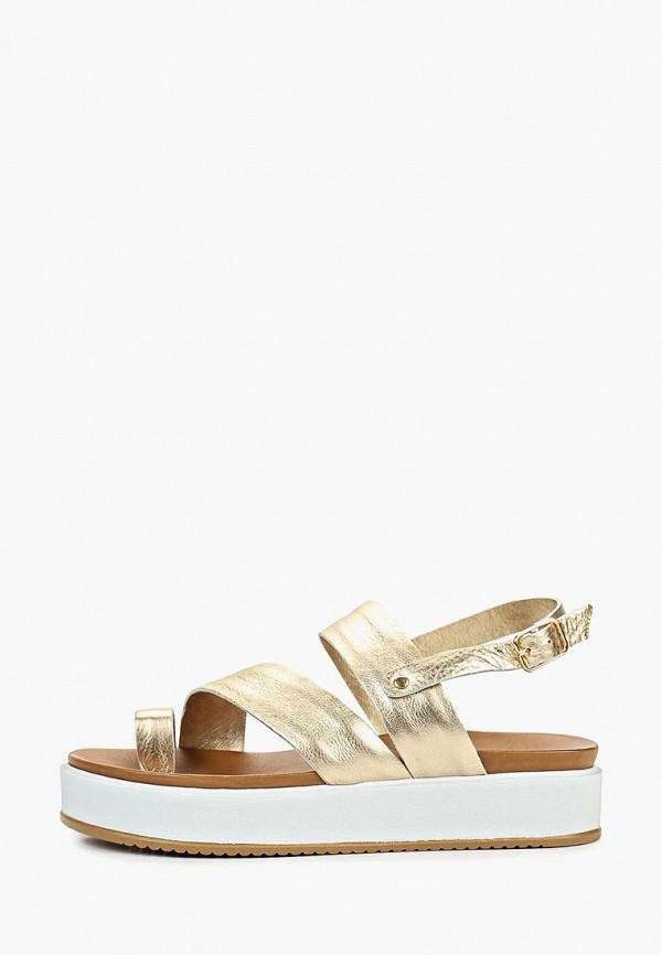 женские сандалии inuovo, золотые