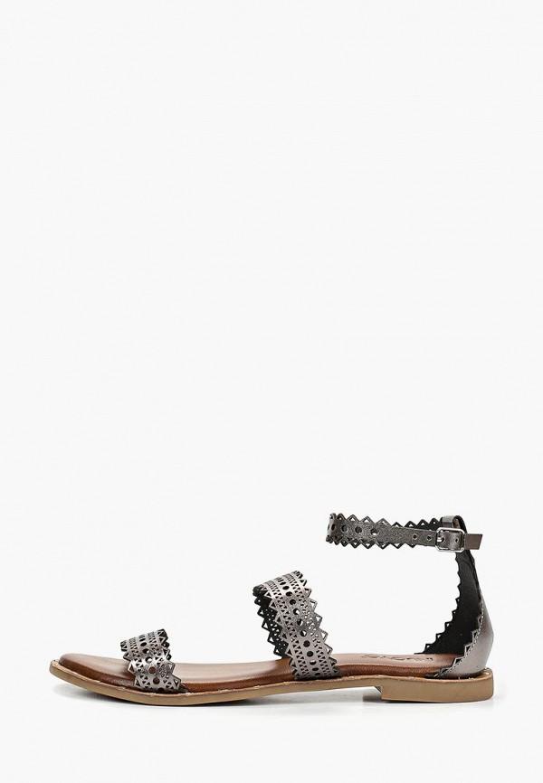 женские сандалии inuovo, серебряные