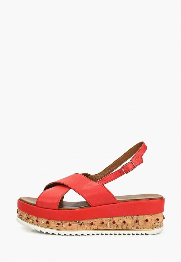 женские сандалии inuovo, красные