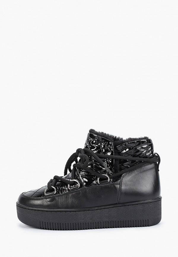 женские луноходы inuovo, черные