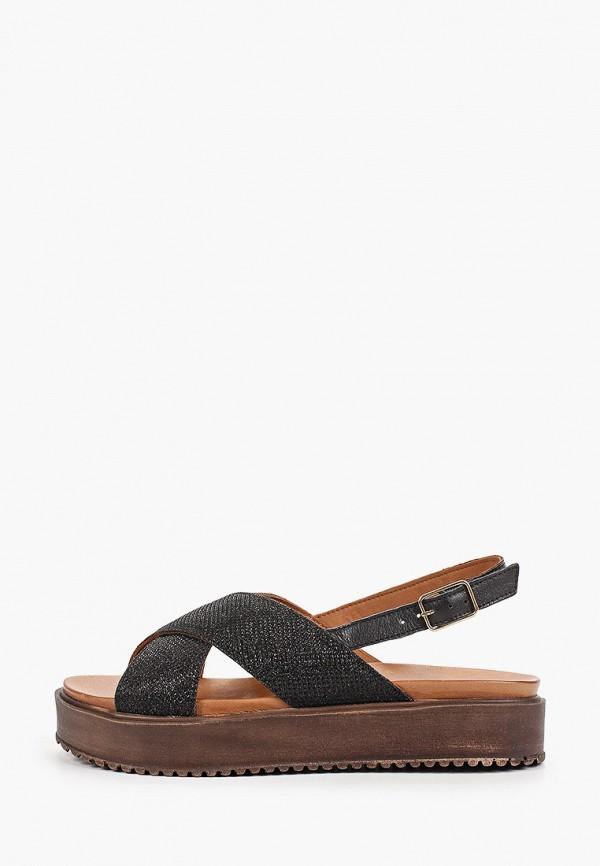 женские сандалии inuovo, черные
