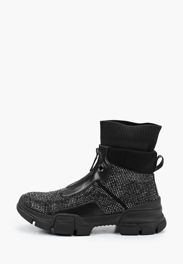 женские ботинки inuovo, черные