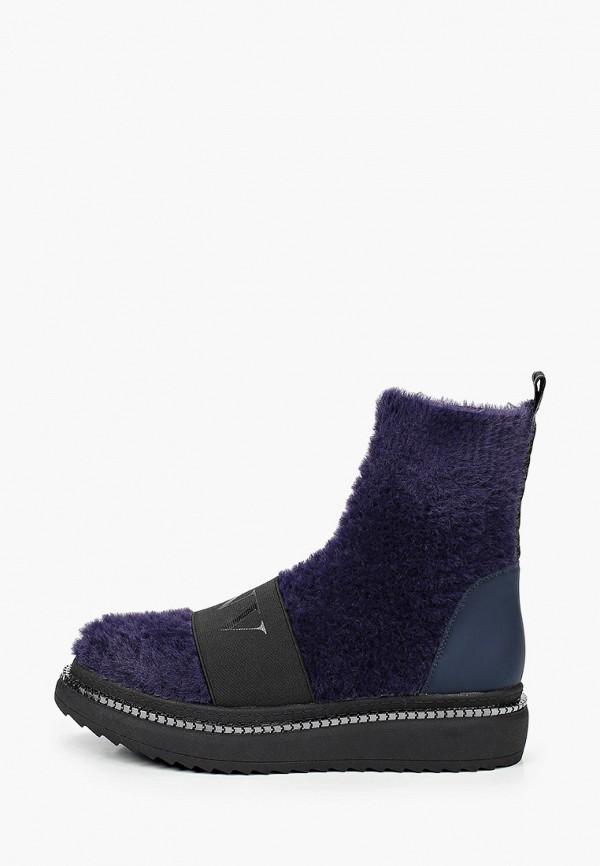 женские ботинки inuovo, синие