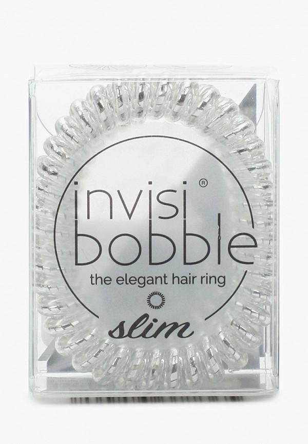 Купить Комплект invisibobble, для волос invisibobble SLIM Chrome Sweet Chrome, IN020DWBC732, серебряный, Осень-зима 2018/2019