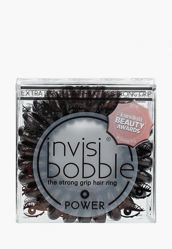 Купить Комплект invisibobble, для волос invisibobble POWER Luscious Lashes, IN020DWNPI36, коричневый, Осень-зима 2018/2019