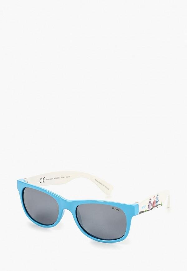 солнцезащитные очки invu для мальчика, голубые