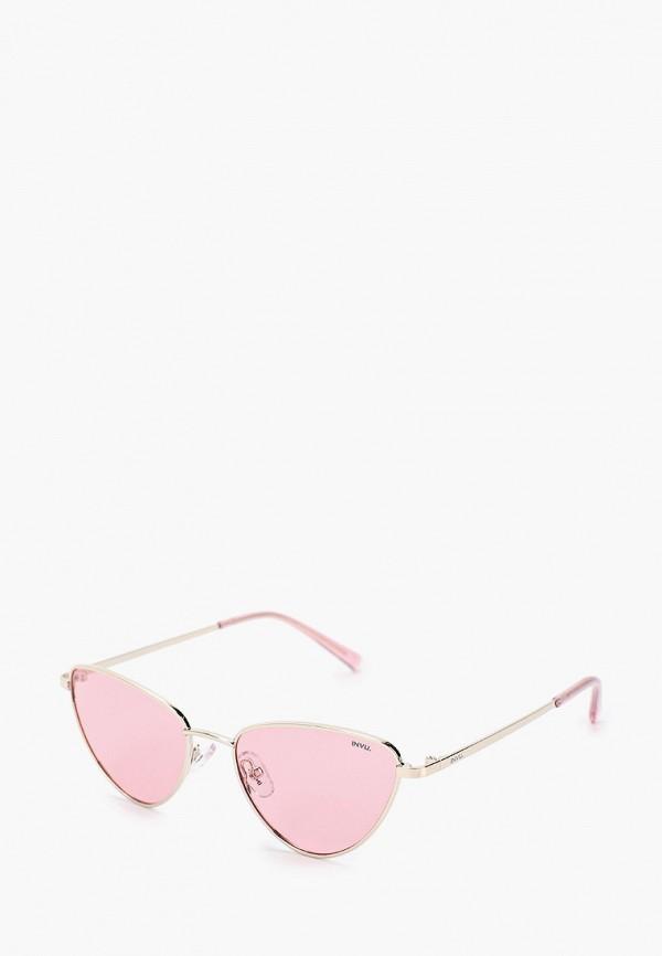 солнцезащитные очки invu для девочки, серебряные