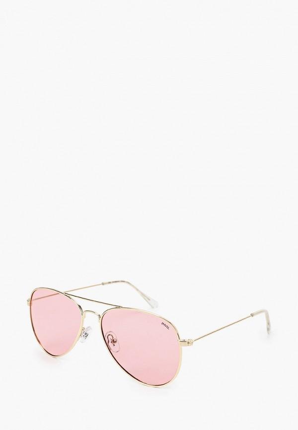солнцезащитные очки invu для девочки, золотые