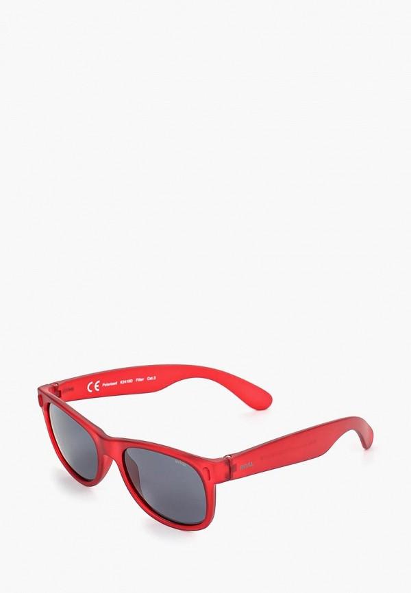 солнцезащитные очки invu малыши, красные