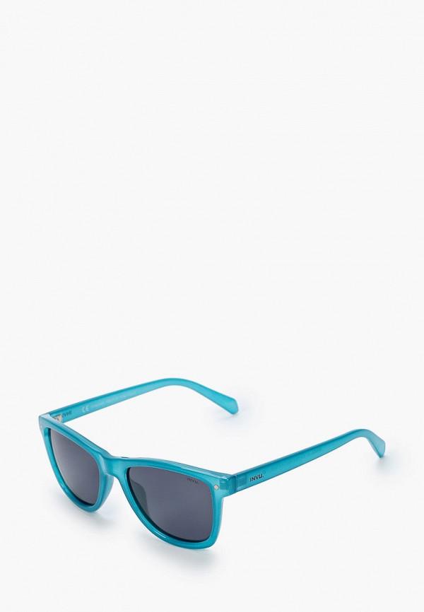 солнцезащитные очки invu малыши, бирюзовые