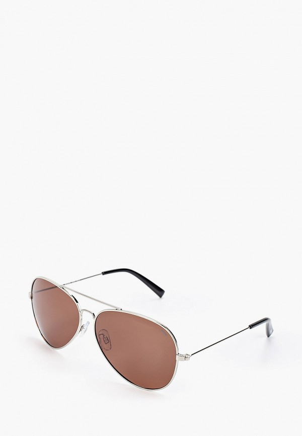 женские авиаторы солнцезащитные очки invu, серебряные