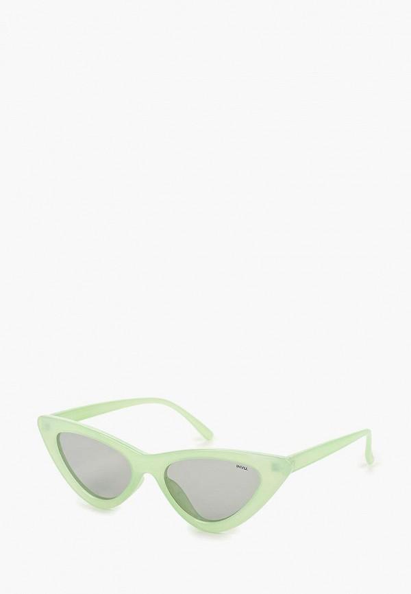 женские солнцезащитные очки invu, зеленые
