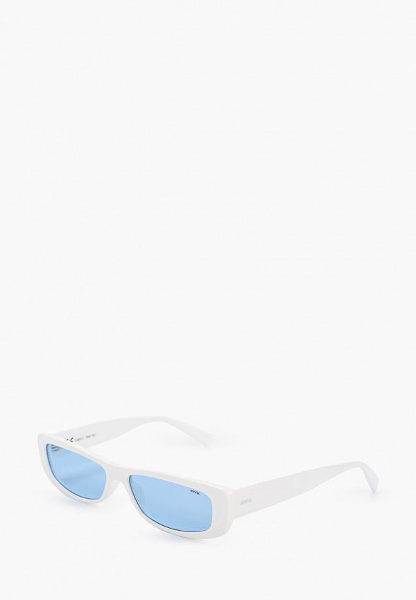 женские солнцезащитные очки invu, белые