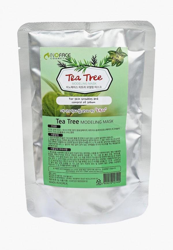 Купить Маска для лица Inoface, с чайным деревом для проблемной кожи с акне и черными точками, 200 гр, in022lwozm30, Весна-лето 2019