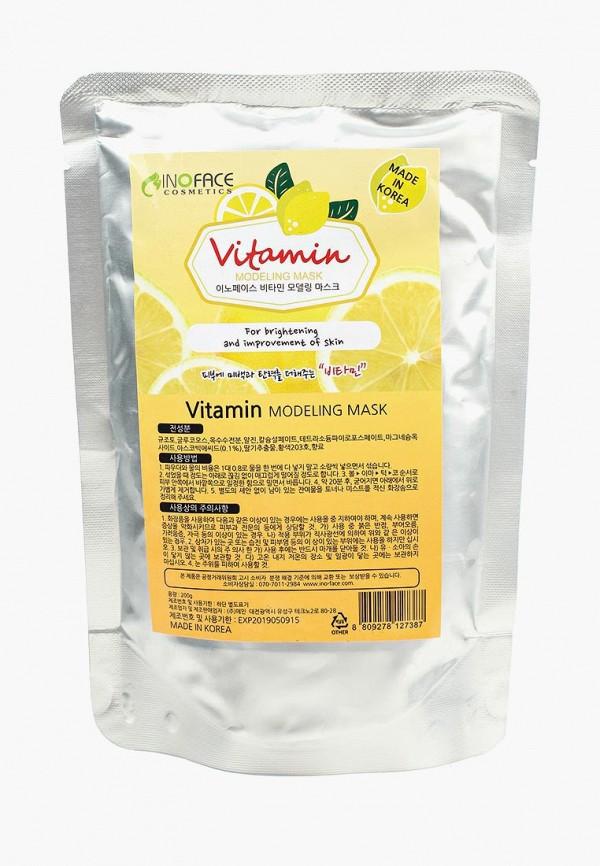 Купить Маска для лица Inoface, альгинатная с витамином С для улучшения цвета и рельефа, 200 гр, in022lwozm31, Весна-лето 2019
