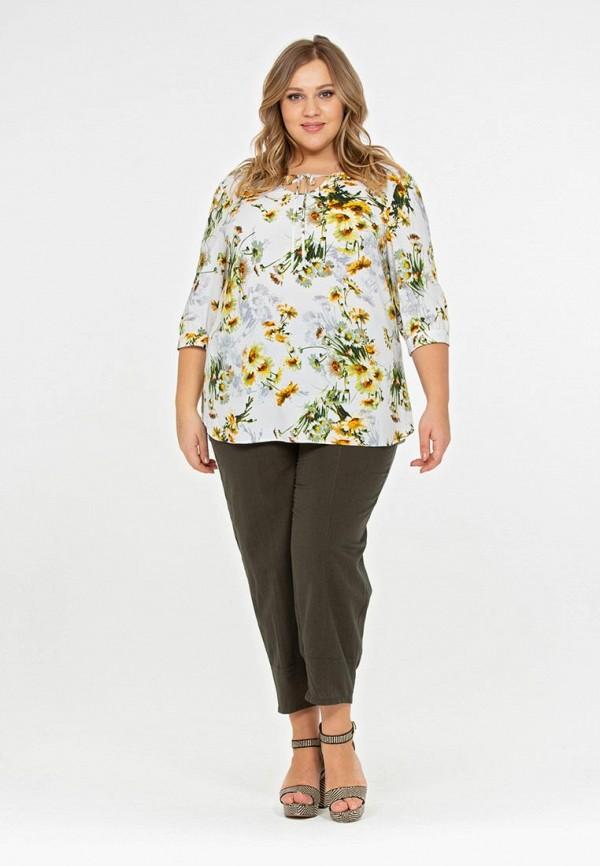 Фото 2 - Блузу Intikoma разноцветного цвета