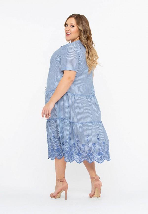 Фото 2 - Платье Intikoma голубого цвета