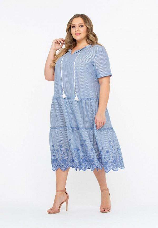 Фото 3 - Платье Intikoma голубого цвета